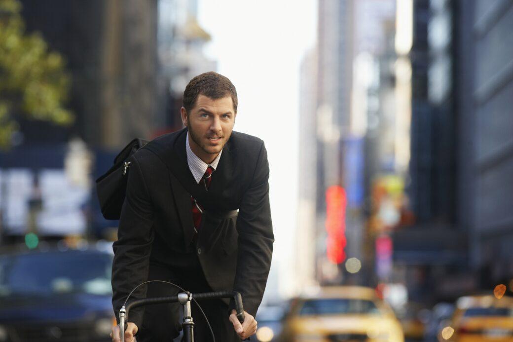 Moderigtig cyklist