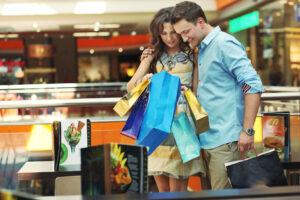 Par på shopping