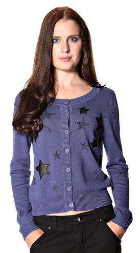Cardigan med stjerner