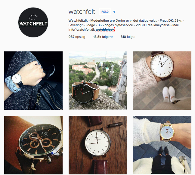 watchfelt instagram