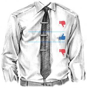 slipsenål placering